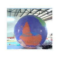 Attractive Inflatable Earth Globe Balloons Customized Different Colors Design Manufactures