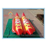 Floating Inflatable Fishing Boat, Inflatable Banana Boat for Water Park Manufactures
