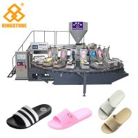 PVC  flip flop slipper making Machine , Shoe Sole Mould Making Machine With 12/16/20/24/30 Stations Manufactures