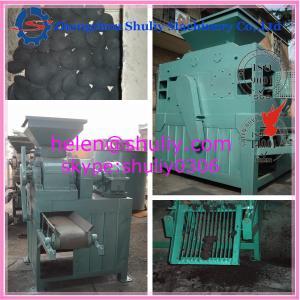 China Pillow shaped coal briquette press machine Pillow shaped coal ball pressing machine Ball shaped coal pressing machine on sale