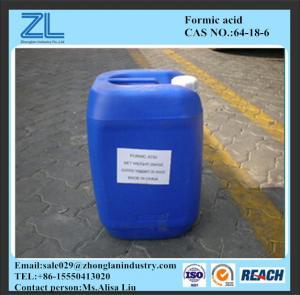 Formic acid price Manufactures