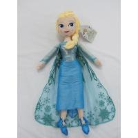 Blue Frozen Elsa Plush Doll Disney Princess Toys in 40cm 50cm Size Manufactures