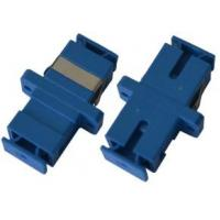 Blue Fiber Optical Audio Cable Adapter SC Duplex Coupler Singlemode For Local Area Network Manufactures