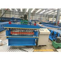Double Layer Roofing Sheet Roll Forming Machine For Two Ibr / Corrugated Sheets Manufactures