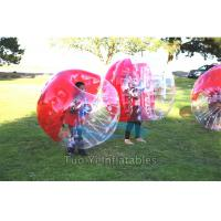 Body Zorbing Bubble Ball , Bouncing Inflatable Human Bumper Ball Manufactures