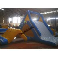 Quality 0.9mm PVC Tarpaulin Large Inflatable Water Toys , Outdoor Water Theme Park for sale