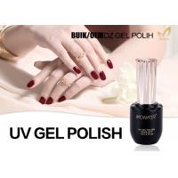 Odorlessness Uv Cured Gel Nail Polish Nail Varnish Gel Superior Performance Manufactures