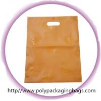 Cute Die Cut Handle Bags For Clothes Shopping / Garment Plastic Bags Manufactures