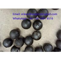 High Chrome Cr 10% Cast Iron Steeel Balls for mining grinding Manufactures