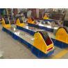 Motorized Lead Screw Adjustable Tank Rotators Travel Bogie  Pipe Fit-up and Fine Adjusting Manufactures
