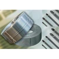 Silver Grooved Threaded Aluminum Tube With Enhanced Heat Exchange Function Manufactures