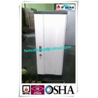 White Anti Magnetic Cabinets Fireproof , Secure Filing Cabinet 6 Drawer For CD Storage Manufactures