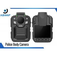 Night Vision Body Worn Video Cameras Police With Charging Dock 3900mAh Manufactures