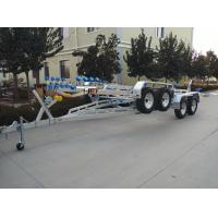 RIB-850 Inflatable Boat Trailer With Brake Two Shaft Hot Dip Galvanized Process Manufactures
