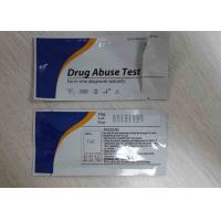 Quality CE ISO13485 Marked Drug Abuse Rapid Test Kits Serun / Plasma Strip / Cassette for sale