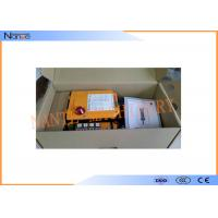 Industrial Radio Remote Control Wireless Motor Control Lowest Operation Risk Manufactures