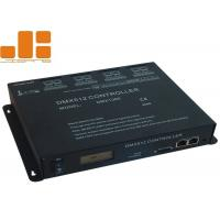 China Remote Control DMX512 Master Controller 8 Ports Of DMX512 Signal Output on sale