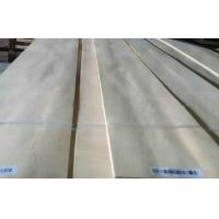 Milk White Hard Maple Crown Cut Veneer For Furniture , Plywood Manufactures