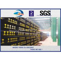 Buy cheap BS11:1985 British Standard Railway Steel Crane Rail For Guide Train Wheels from wholesalers