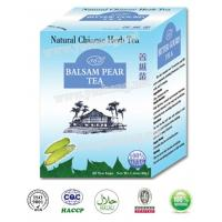 Quality Natural herbal teabag Chinese healthy herbal Balsam Pear tea powder cool fever reduce diabetes blood sugar bitter melon for sale
