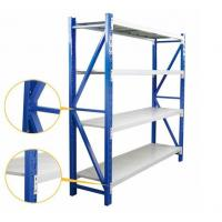 China Medium Duty Warehouse Shelving Rack Customized Color And Dimension on sale