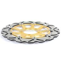 CNC Aluminium 320mm Motorcycle Brake Disc Installation Site Front Wheel Manufactures