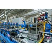 China PU Formed Sectional Sandwich Panel Production Line Color Steel Sheet Roll Former on sale
