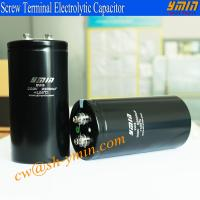 105°C  6000 Hours Screw Terminal Aluminum Electrolytic Capacitor for UPS Power Inverter Renewable Energy Power Inverters Manufactures