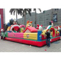 Children Topic Commercial Inflatable Amusement Park With PVC Tarpaulin Manufactures