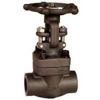Medium Pressure Forged Steel Gate Valve NPT End , 800LB / 1500LB Manufactures