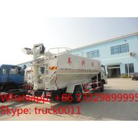 forland 3ton-4ton poultry bulk-fodder Transport Truck for chicken for sale, forland 8m3 farm-oriented feed truck Manufactures