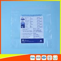 Reclosable Plastic Ziplock Pill Bags Self Seal , Clear Resealable Poly Bags Manufactures