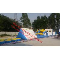 adult inflatable water obstacle course for sale inflatable floating obstacle water park Manufactures