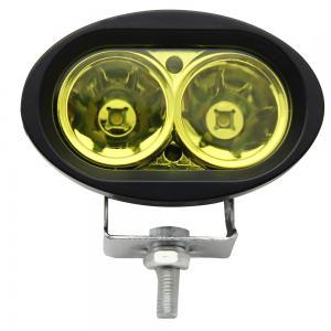 China 6500k Amber Led Vehicle Work Light 2000lm / 20w 4 Inch Led Work Lights For Trucks on sale
