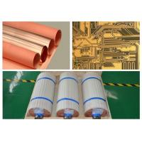 Single Side Type Copper Foil Sheet 18 Micron Width 530 Mm With High Peel Strength Manufactures
