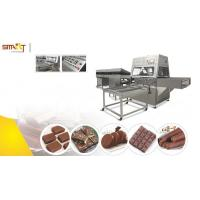 Small Chocolate Bar Manufacturing Equipment / Chocolate Coating Machine Manufactures