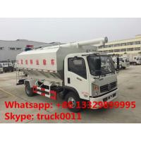 Dongfeng 12m3 143hp diesel Euro 5 livestock and poultry feed transportation truck for sale, bulk feed truck for sale Manufactures