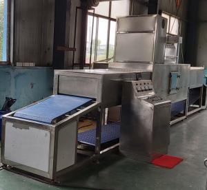 Microwave Thawing Successful Case of Pseudosciaena Crocea Manufactures