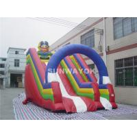 For Kids Colorful Pirate theme Commercial Inflatable Slide With Inflatable  PVC Arch. Manufactures