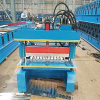 Galvanized Widespan Roof Sheet Roll Forming Machine Feeding Width 1219mm Manufactures