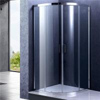 Chrome Frame Quad Sliding Shower Enclosure , Glass Bathroom Shower Door Manufactures