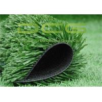 C Shaped Synthetic Fake Grass Carpet , Outdoor Soccer Turf 50 Mm Pile Height Manufactures