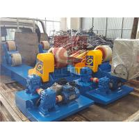 10T Capacity Heavy Duty Pipe Rollers / Pipe Welding Rollers With PU Wheels Manufactures