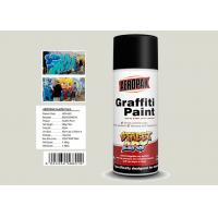 Toyota White Color Graffiti Wall Painting Nitro Self Dry With High Viscosity Manufactures
