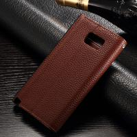 Quality Galaxy Note 5 Samsung Leather Wallet Case Contrast Color Envelope Style With for sale