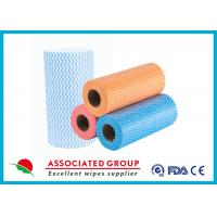 Colorful Printing Spunlace Non Woven Fabric Roll For Household Cleaning Manufactures