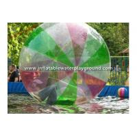Colorful 0.8mm PVC Inflatable Walking Water Ball Person Sized Hamster Ball Manufactures
