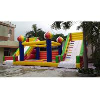 Bounce House Commercial Inflatable Slide With Double Slide For Outdoor And Indoor Manufactures
