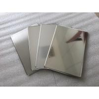 Mirror Finish Stainless Steel Wall Panels Anti - Static With Fire Resistance Manufactures