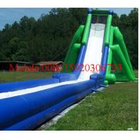 World largest big air big kahuna inflatable tobogan water slide Inflatable Hippo Slide Manufactures